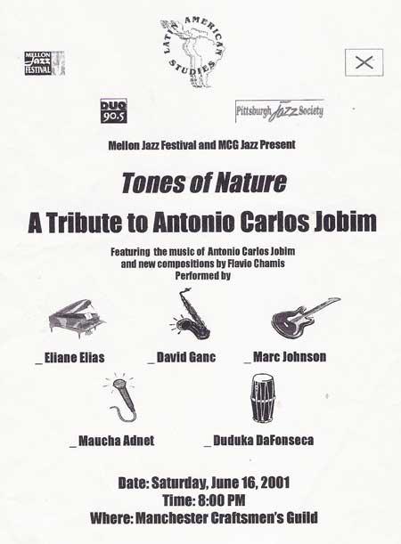 Tones of Nature - A tribute to Antonio Carlos Jobim